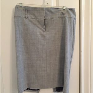 Grey Express Skirt